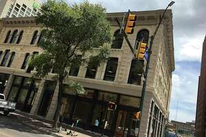 The Savoy Building at East Houston and Soledad streets in downtown San Antonio is listed in a state filing as the home of a new project called Bunz at the Savoy.