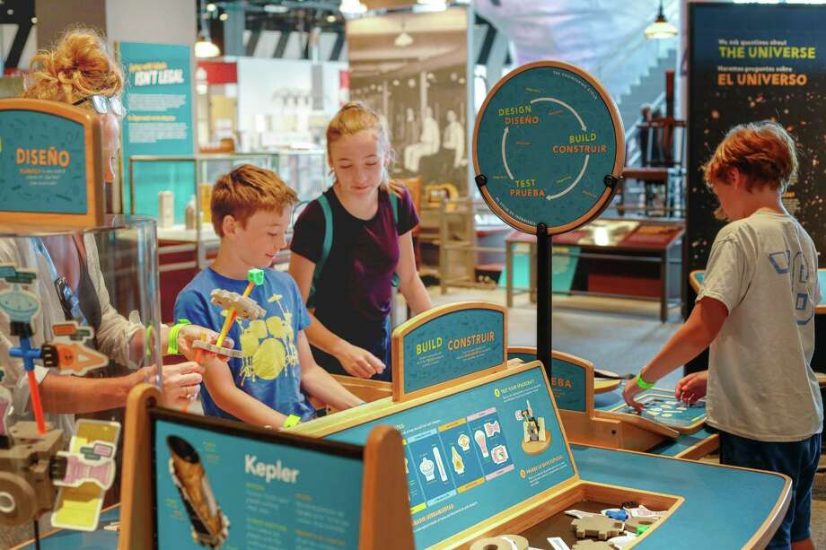 Stepping Stones Museum for Children in Norwalk will take visitors to the moon and back during its Apollo 11 50th anniversary celebration weekend July 20-21. Photo: Science Museum Of Minnesota For NISE Network / Contributed Photo