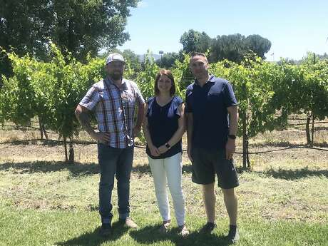 Greg and Lindsay Hamilton launched Hamilton Family Wines after losing their home in the 2017 Sonoma wildfires. Photo: Esther Mobley / The Chronicle