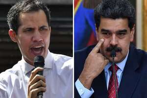 Venezuelan ppposition leader Juan Guaido and President Nicolas Maduro are battling for control of Citgo.