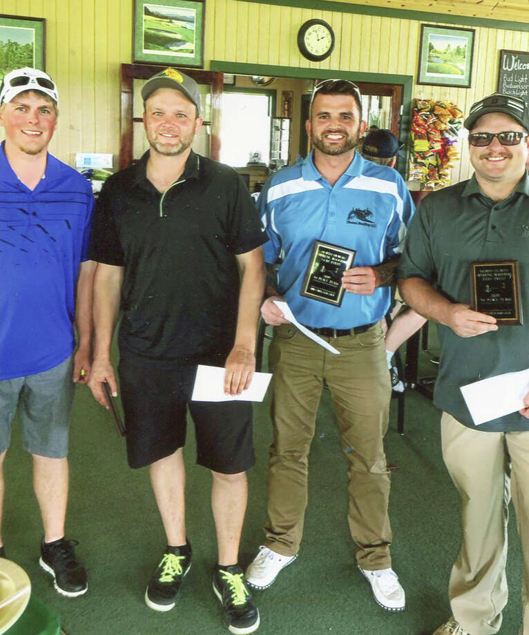 The North Huron Athletic Boosters had their 14th Annual Golf Tournament on June 14 at Bird Creek Golf Course. This year's winners were Matt Shears, Drew Vaerten, Dan Nieschulze and Kevin Stormzand. Photo: Submitted Photo