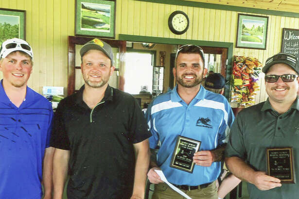 p.p1 {margin: 0.0px 0.0px 0.0px 0.0px; line-height: 10.8px; font: 10.0px Helvetica} The North Huron Athletic Boosters had their 14th Annual Golf Tournament on June 14 at Bird Creek Golf Course. This year's winners were Matt Shears, Drew Vaerten, Dan Nieschulze and Kevin Stormzand.