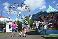 Scene at the 176th Columbia County Fair on Friday, Sept. 2, 2016 in Chatham, N.Y. (Lori Van Buren / Times Union)