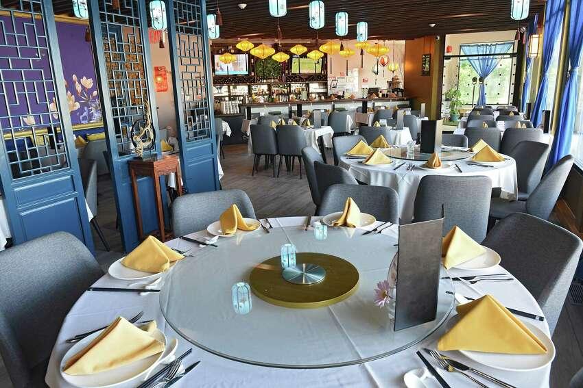 Interior of SparX Fine Chinese Cuisine on Monday, July 8, 2019 in Halfmoon, N.Y. (Lori Van Buren/Times Union)