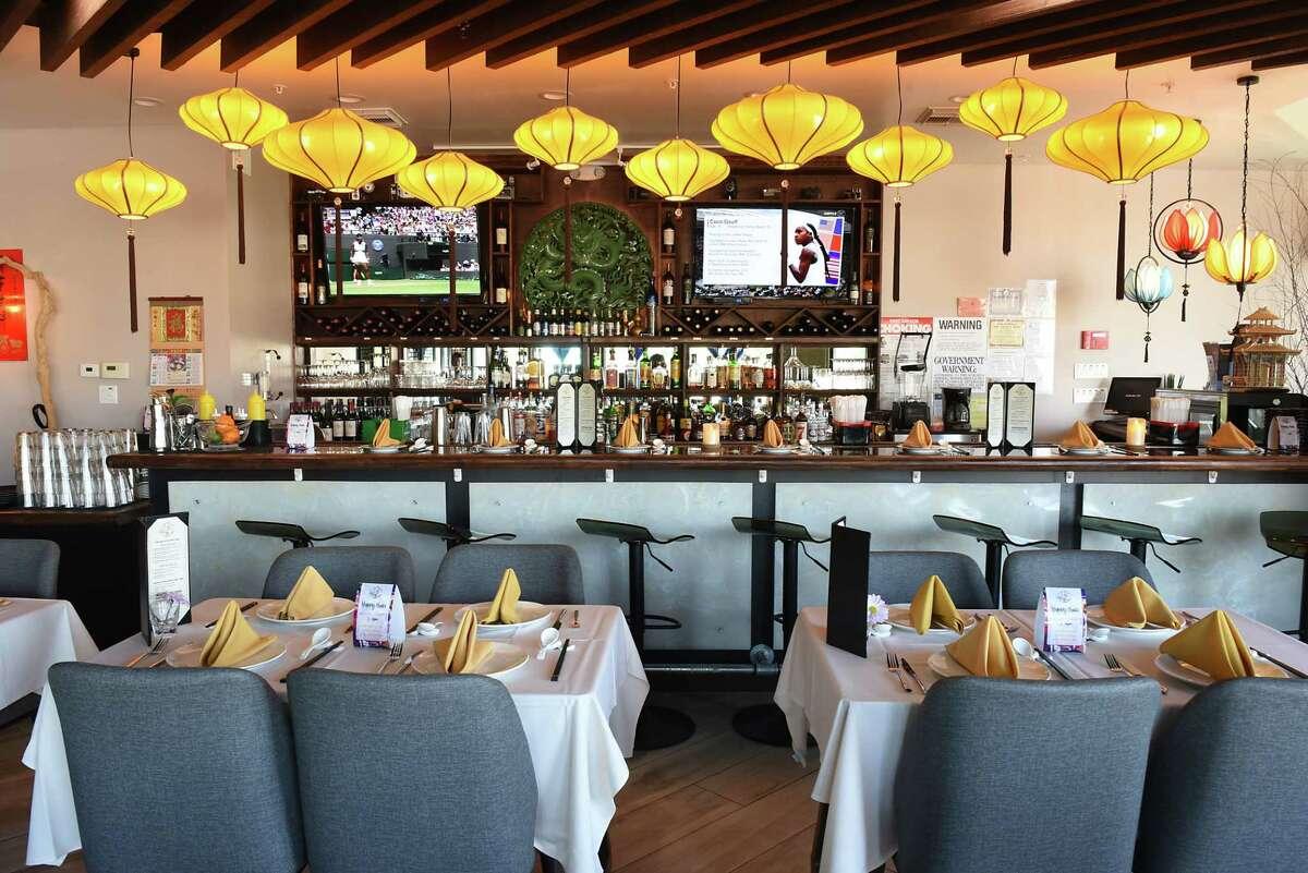Bar area inside SparX Fine Chinese Cuisine on Monday, July 8, 2019 in Halfmoon, N.Y. (Lori Van Buren/Times Union)