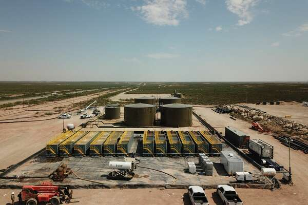 Permian Basin well completions today require larger volumes and higher rates of treated, recycled produced water. Water management companies such as Solaris Water Midstream are investing in larger facilities. Solaris' expanded Lobo Ranch produced recycling and blending center is in Eddy County, N.M.