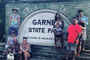 """I have always wanted to take a picture in front of the Garner State Park sign to start our own traditions,"" Davila told Chron.com."