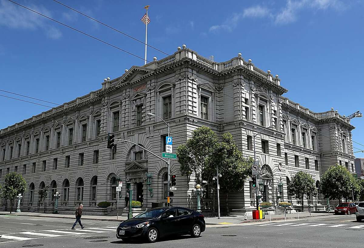 A view of the Ninth U.S. Circuit Court of Appeals on June 12, 2017 in San Francisco, California. A ruling from a three-judge panel of the Ninth Circuit Court of Appeals has ruled against U.S. President Donald Trumps revised executive order limiting travel from six predominately Muslim countries. (Justin Sullivan/Getty Images/TNS)