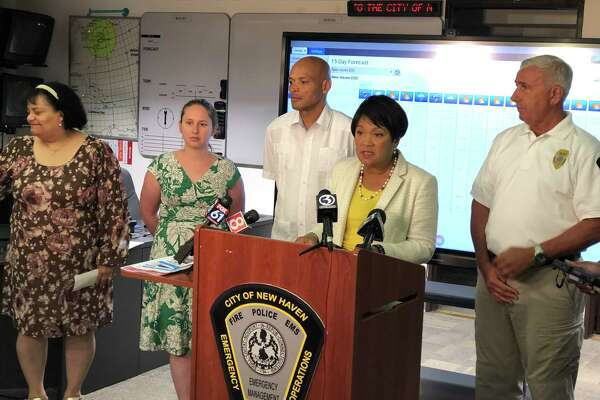 "New Haven officials offered safety tips Thursday, ahead of a ""dangerous"" stretch of heat expected to begin this weekend."