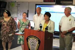 """New Haven officials offered safety tips Thursday, ahead of a """"dangerous"""" stretch of heat expected to begin this weekend."""