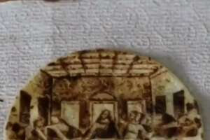 "San Antonio's Rob the Original created Leonardo da Vinci's ""The Last Supper"" on a tortilla."