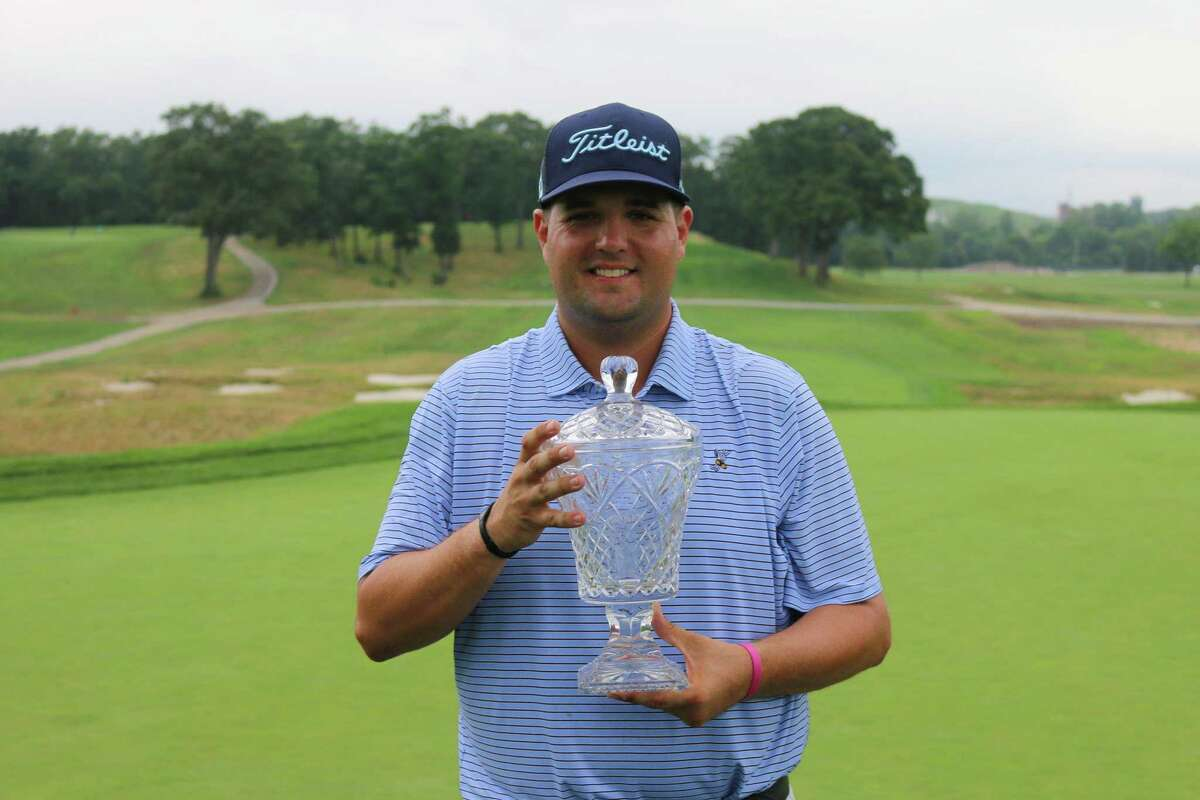 Mike Ballo Jr. of Stamford won the New York State Open Thursday at Bethpage Black in Farmingdale, N.Y.