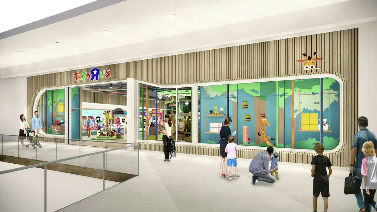 This undated artist rendering provided by Toysa€œRa€Us shows an artist rendering of a new store, which will be about 6,500 square feet a€?