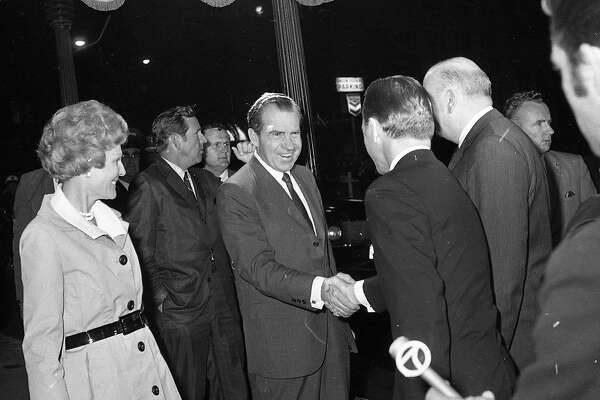 When Nixon's summer of '69 visits to SF drew polarizing reactions -  SFChronicle.com