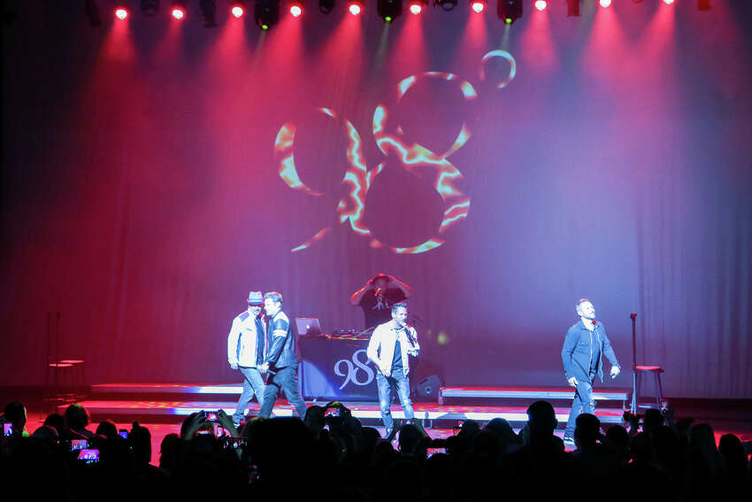 Boy Band 98 Degrees headlined Alive@Five in Stamford on July 18, 2019. Rain forced the concert to be moved indoors to the Palace Theatre instead of its usual spot in Columbus Park. Were you SEEN?
