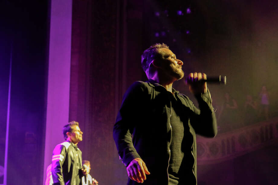 Boy Band 98 Degrees headlined Alive@Five in Stamford on July 18, 2019. Rain forced the concert to be moved indoors to the Palace Theatre instead of its usual spot in Columbus Park. Were you SEEN? Photo: Ken (Direct Kenx) Honore / Hearst CT Media