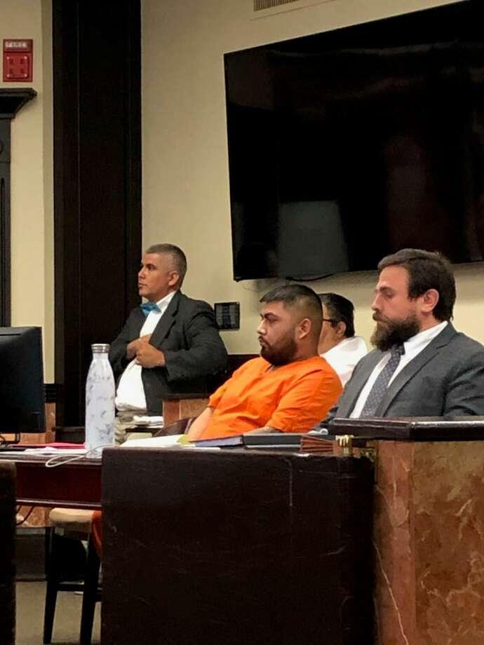 Gilberto Guadalupe Villarreal, en la Corte de Distrito 111. Photo: María Salas