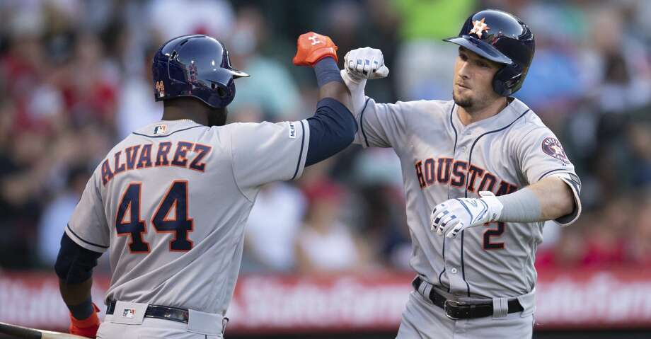 Astros beat Angels to split series, road trip