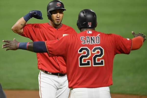 Pinch-hit homer helps Twins terminate A's winning streak at 6