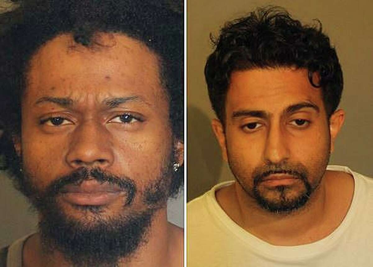 Two men were arrested after police found powdered cocaine, crack cocaine, fentenyl, a substantial quantity of LSD, several hundred dollars and a loaded 9mm pistol in a Padanaram Road apartment on Thursday, July 18, 2019. Amarpreet Sidhu, 34, left, of Bethel, and Patrick Rodrigues, 34, of Danbury, were arrested by members of the Special Investigations Division in connection with drug trafficking in Danbury.