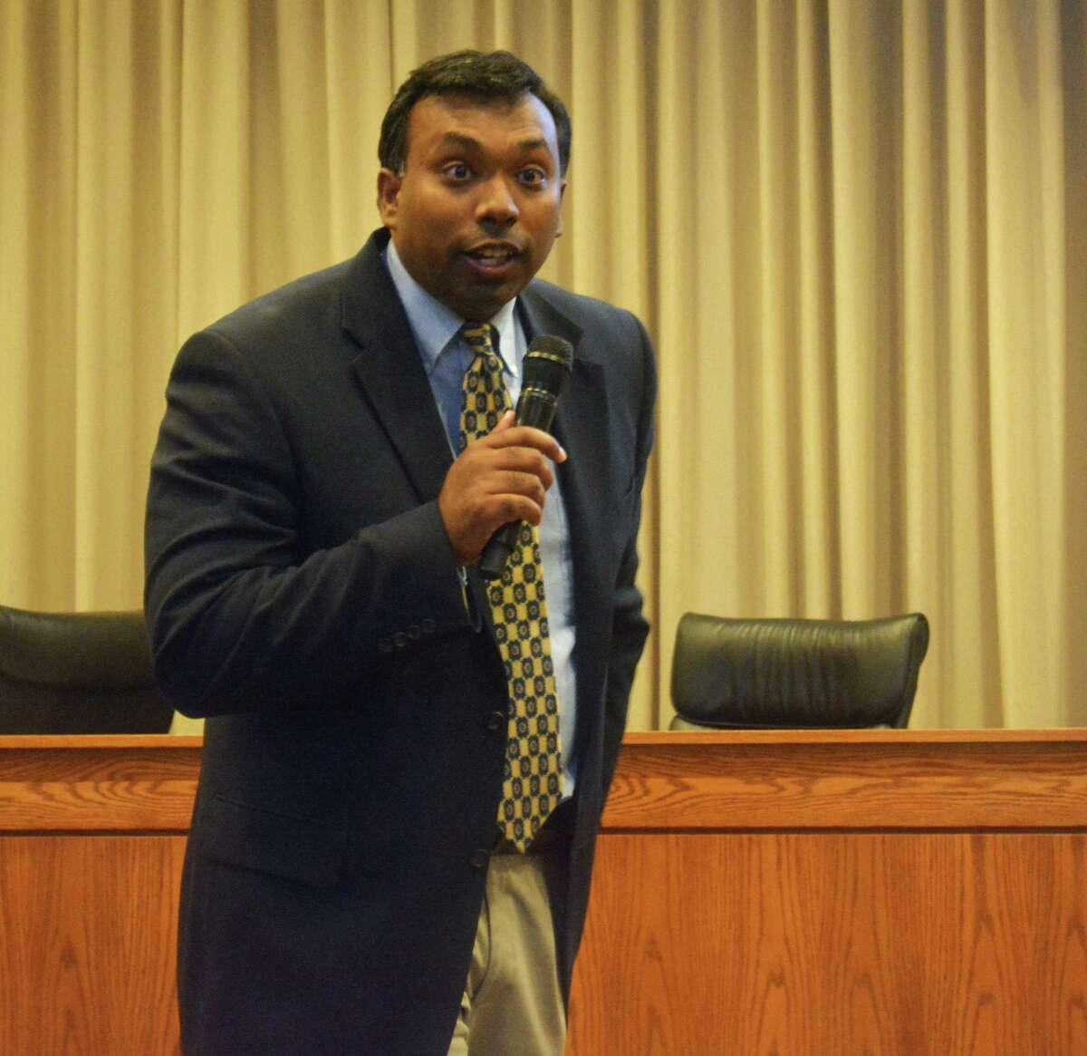 Middletown Parking Director Geen Thazhampallath is running for mayor.