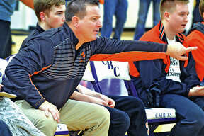 Edwardsville's Jon Wagner guided the Tigers to a 27-1 dual record and a Class 3A state tourney trip to earn 2018-19 Telegraph Wrestling Coach of the Year.