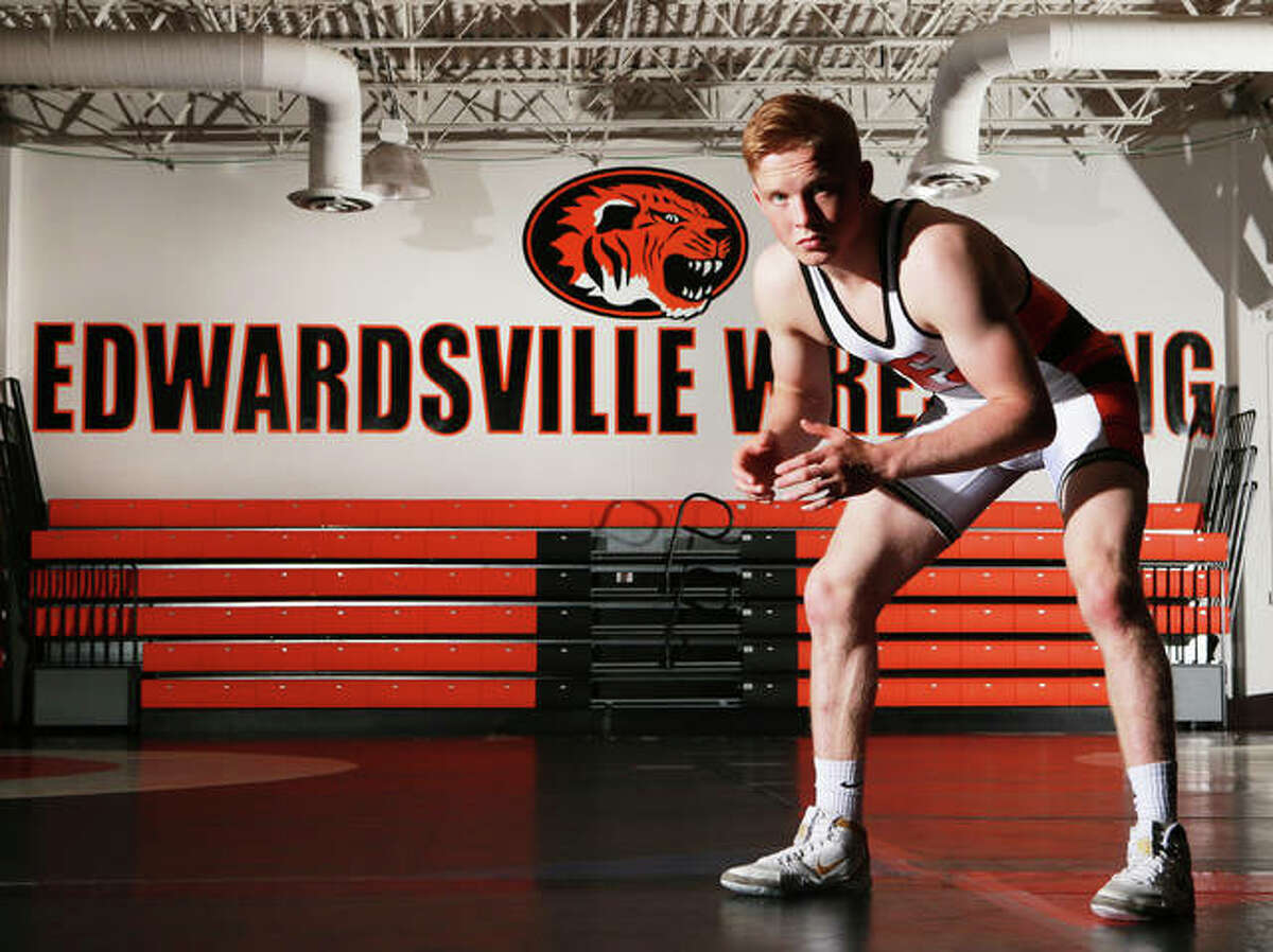 The Tigers' first state champion and school record-holder with 185 career victories, Edwardsville's Noah Surtin is the 2018-19 Telegraph Wrestler of the Year.