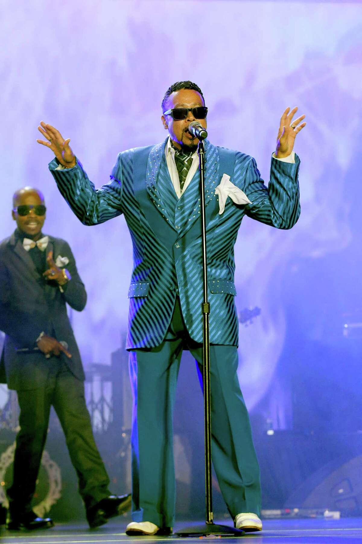 Morris Day performs recently in New Orleans.
