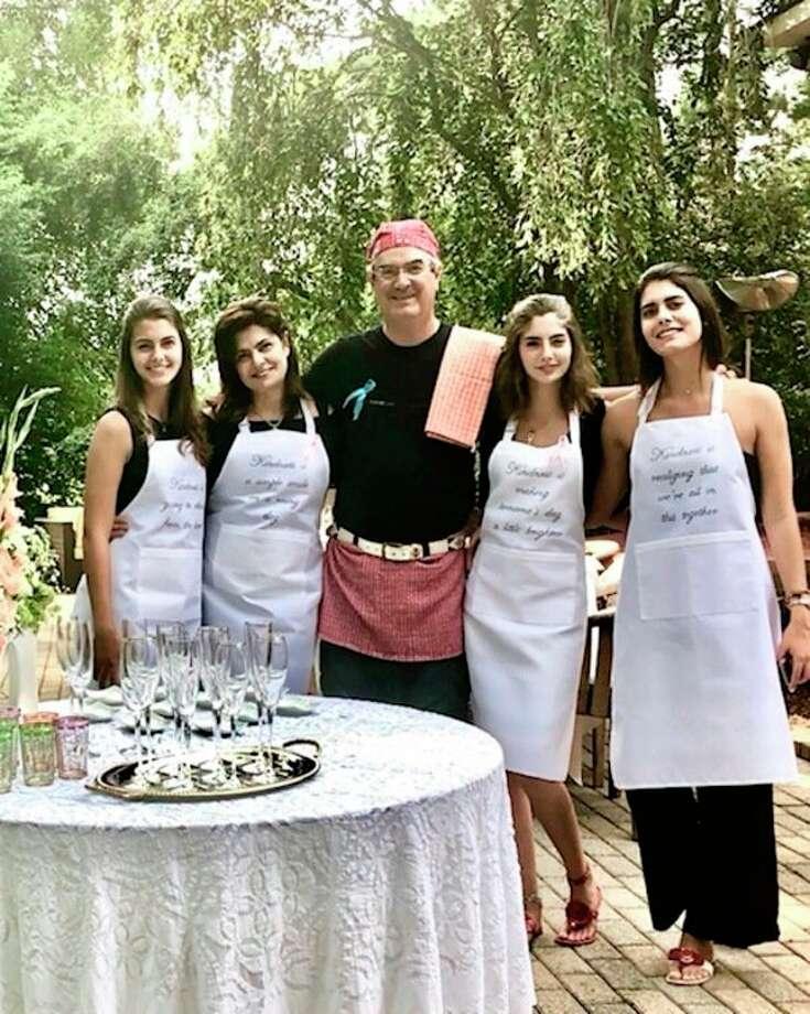 The Donoso family from left to right: Carolina, Sandra, Diego,Gabriela and Helena. (Photo provided)
