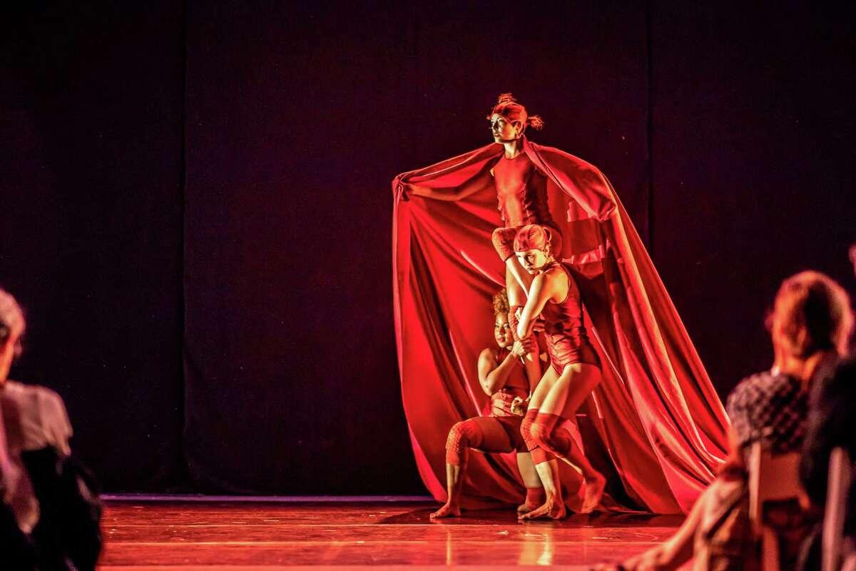 A dance performance at last year's Five Senses Festival.