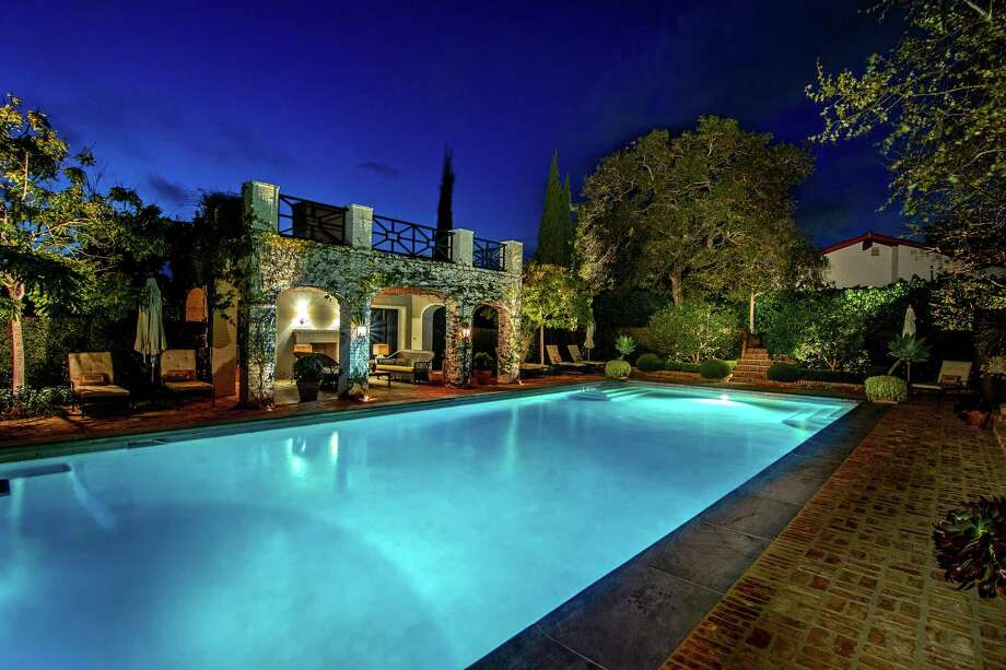 Lindsey Buckingham of Fleetwood Mac fame sold his French Normandy-inspired home in Brentwood for $28 million.The roughly 10,000-square-foot house was custom built for the Fleetwood Mac rocker and his wife, interior designer Kirsten Buckingham. Set on more than an acre, the double-lot property includes a tennis court, a gym, a guest house and a screening room. (Handout photo/TNS) Photo: (Handout Photo/TNS) / Adam Latham