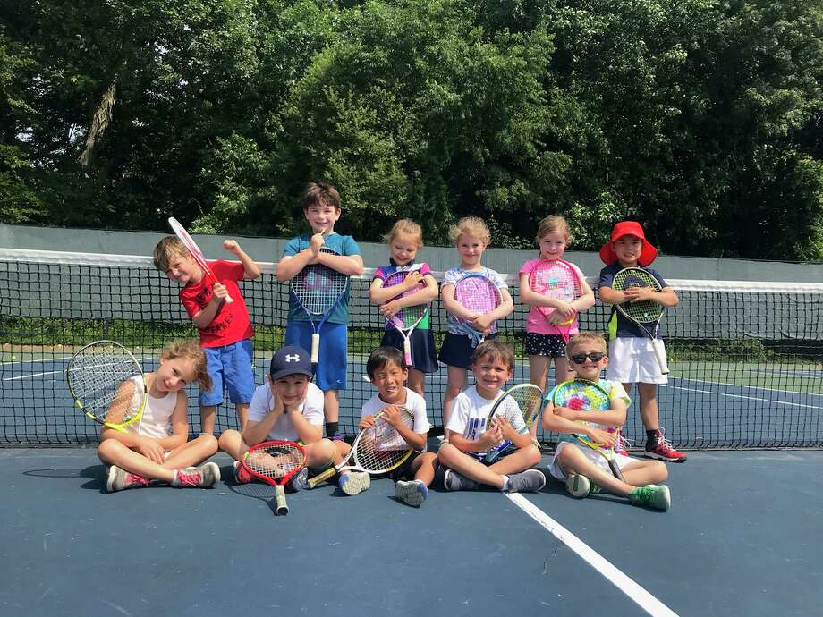 New Level Tennis camp is one of the many camps Darien's Parks & Rec is offering this summer. Photo: Contributed