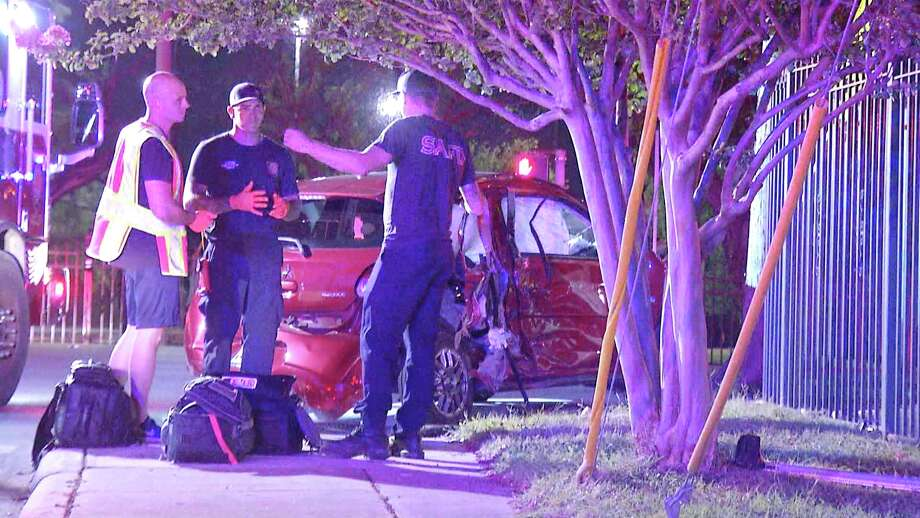 Isabel Martinez Muniz, 97, died following a vehicle crash late Thursday night on the city's West Side, San Antonio police said. Photo: Ken Branca