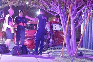 Isabel Martinez Muniz, 97, died following a vehicle crash with a pickup truck late Thursday night on the city's West side, San Antonio police said.