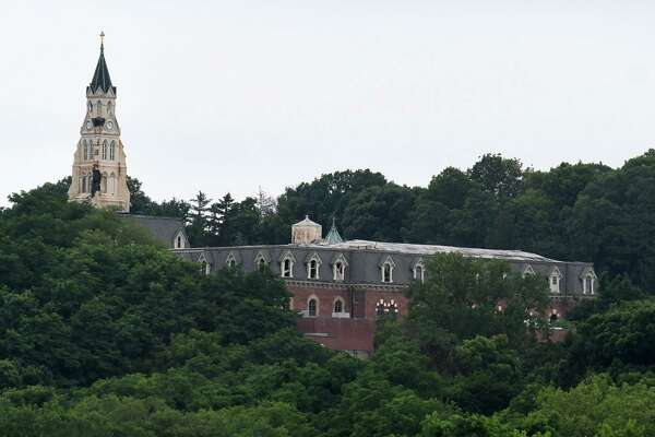 Exterior of the old Doane Stuart campus and Kenwood Convent on Friday, July 19, 2019, in Albany, N.Y. (Will Waldron/Times Union)