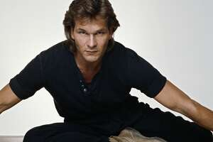 American actor Patrick Swayze, October 1992. (Photo by Terry O'Neill/Iconic Images/Getty Images)