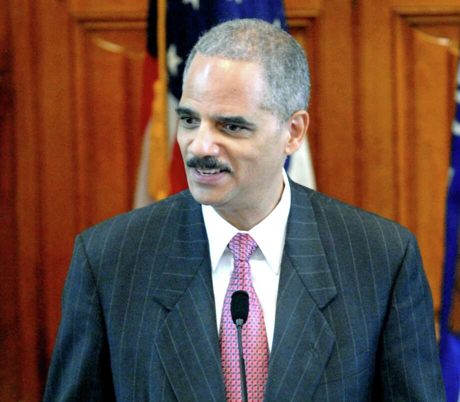 Former Connecticut Attorney General of the United States Eric Holder Photo: File Photo