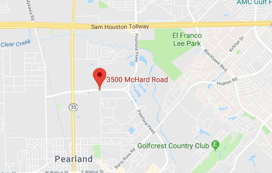 An elderly man was killed in a hit-and-run crash in southeast Houston, north of the Pearland area, on Thursday, July 18, 2019. Photo: Google Maps