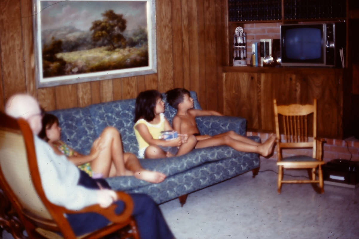 Nan Buchanan: In Corpus Christi. The fuzzy television picture had the full attention of my three kids and their granddad as we watched the Apollo moon landing. We're excited to relive this 50th anniversary of such a memorable event!