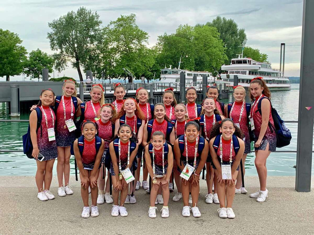 Twenty gymnasts from the Westport Weston YMCA recently returned from 10 days at the 16th World Gymnaestrada in Dornbirn, Austria, as part of the USA delegation.