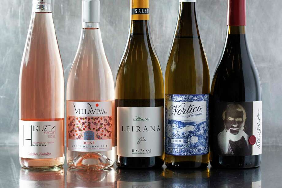 Wines of the week. Photo: Photo For The Washington Post By Stacy Zarin Goldberg / For The Washington Post