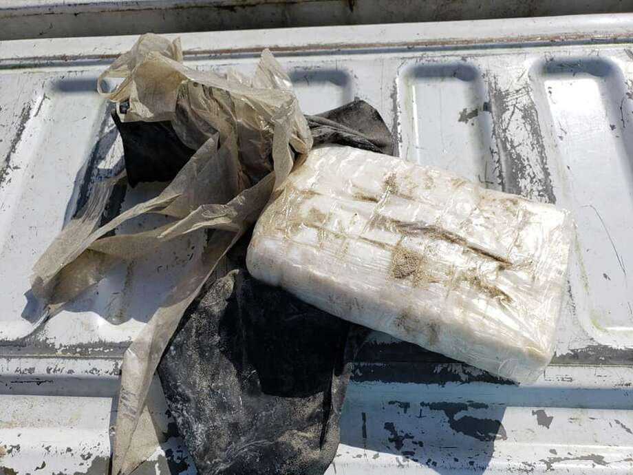 Leitha Garrett Ingram said she stumbled upon a brick of cocaine with a street value of $33,000 while she was visiting Bolivar beach July 9. >> Keep clicking through this gallery to see the strange items found on Texas beaches. Photo: Courtesy Leitha Garrett Ingram