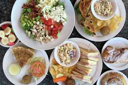 Selection of dishes offered at Jubilee Cafe & Bakery