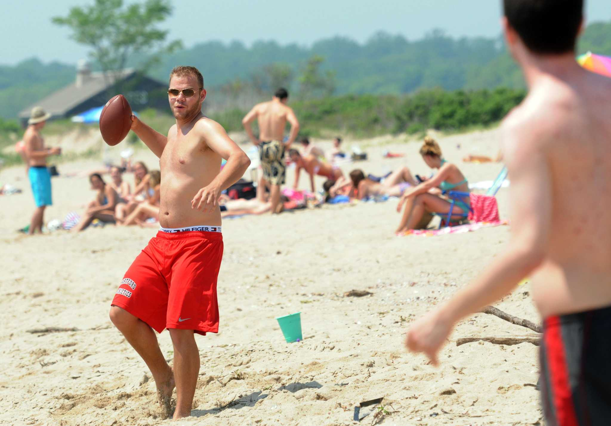 Want to hit the beach this weekend? Get there early