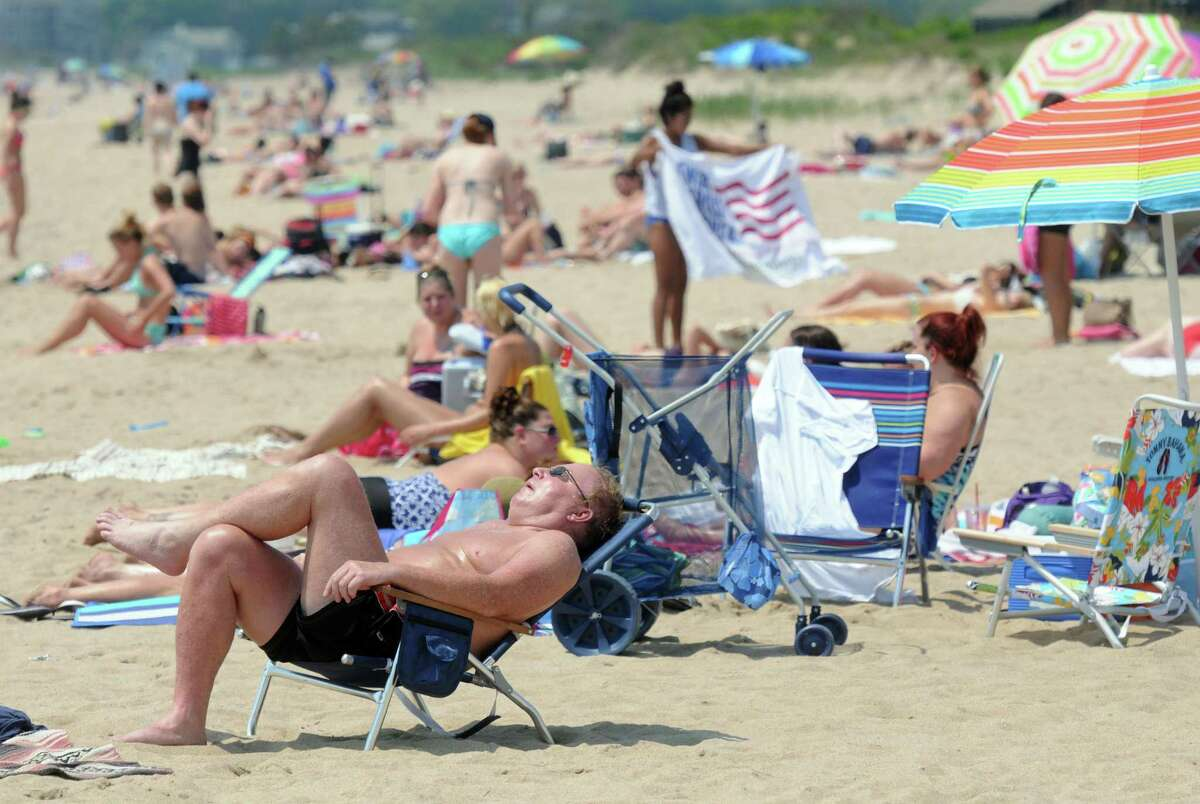 Hammonasset Beach State Park, Madison, West Beach. Mara Lavitt/New Haven Register mlavitt@newhavenregister.com 5/30/13