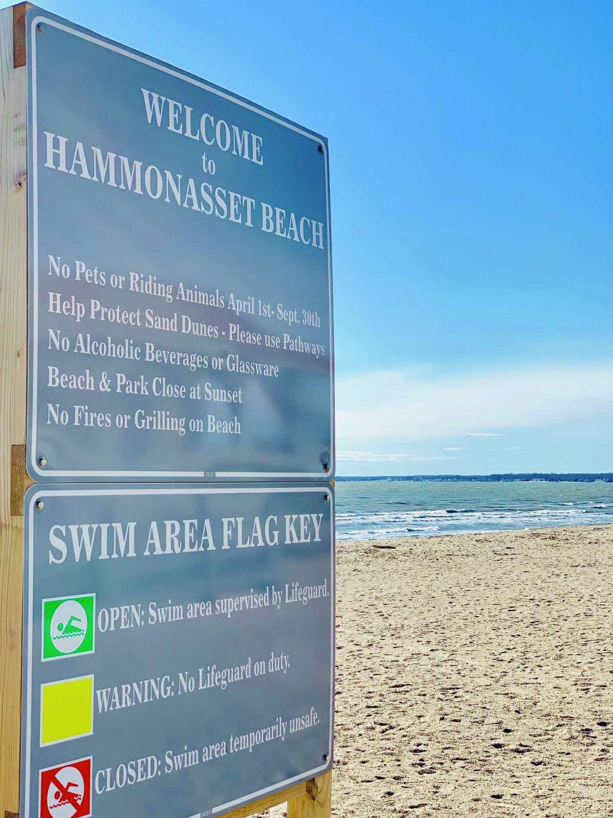 Hammonasset State Beach.