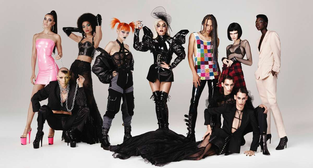 Texas native Fish Fiorucci was featured in Lady Gaga's beauty campaign ad for Haus Laboratories.