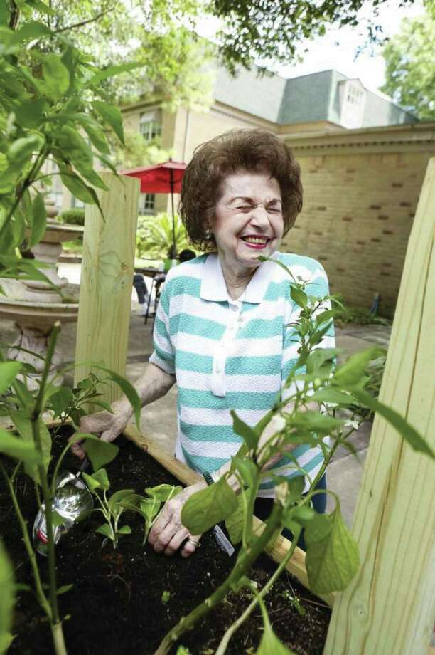 "Resident Carmela Scalise hadn't previously considered a senior living community, but now says Treemont Retirement Community is a ""great fit"" for her."