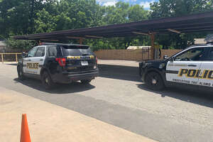 A man was shot while vacuuming his vehicle Friday at a car wash on the city's West Side, according to the San Antonio Police Department.