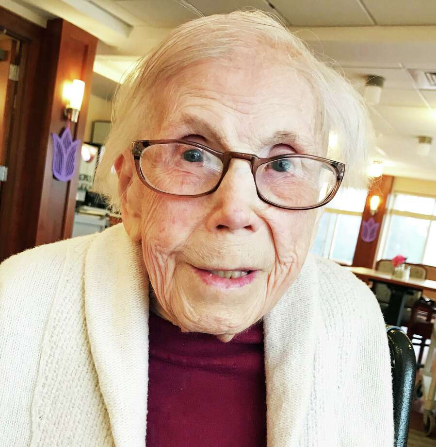 Cromwell resident Alice Hallstrom will be celebrating her 107th birthday July 23 among family and friends at Covenant Living of Cromwell. Photo: Contributed Photo